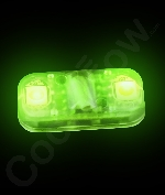 Fun Central AC947 LED Light Up Motion Activated Light Chip - Green