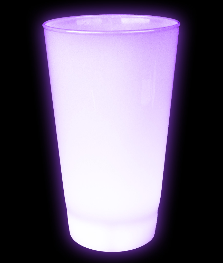 Glow LED Cup - 16oz Purple