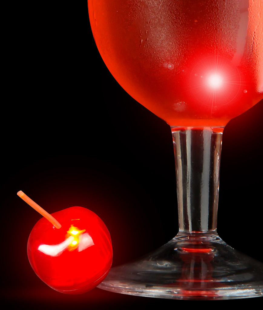 LED Cherry Ice Cube