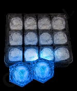 LED Light Up Ice Cubes - Blue