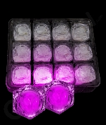 LED Light Up Ice Cubes - Pink