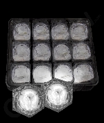LED Light Up Ice Cubes - White