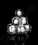 Fun Central AC971 LED Light Up Light Up Ice Cubes - White
