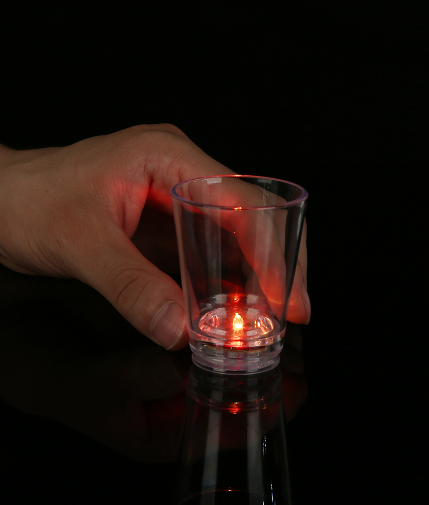 LED 2oz Shot Glass - Multicolor
