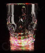 Fun Central AU539 LED Light Up 20oz Skull Mug - Multicolor
