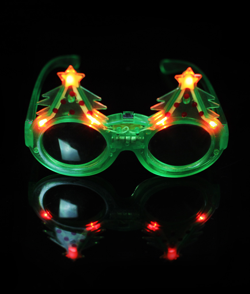 LED Christmas Tree Sunglasses