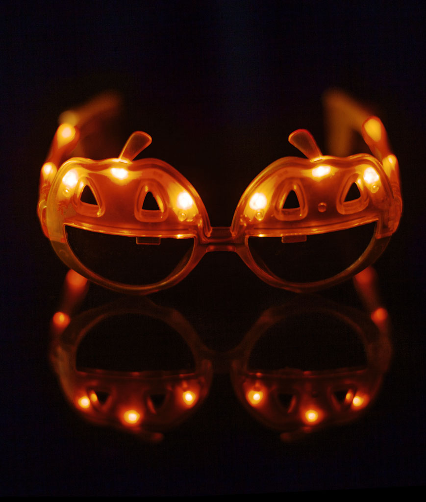 LED Pumpkin Sunglasses