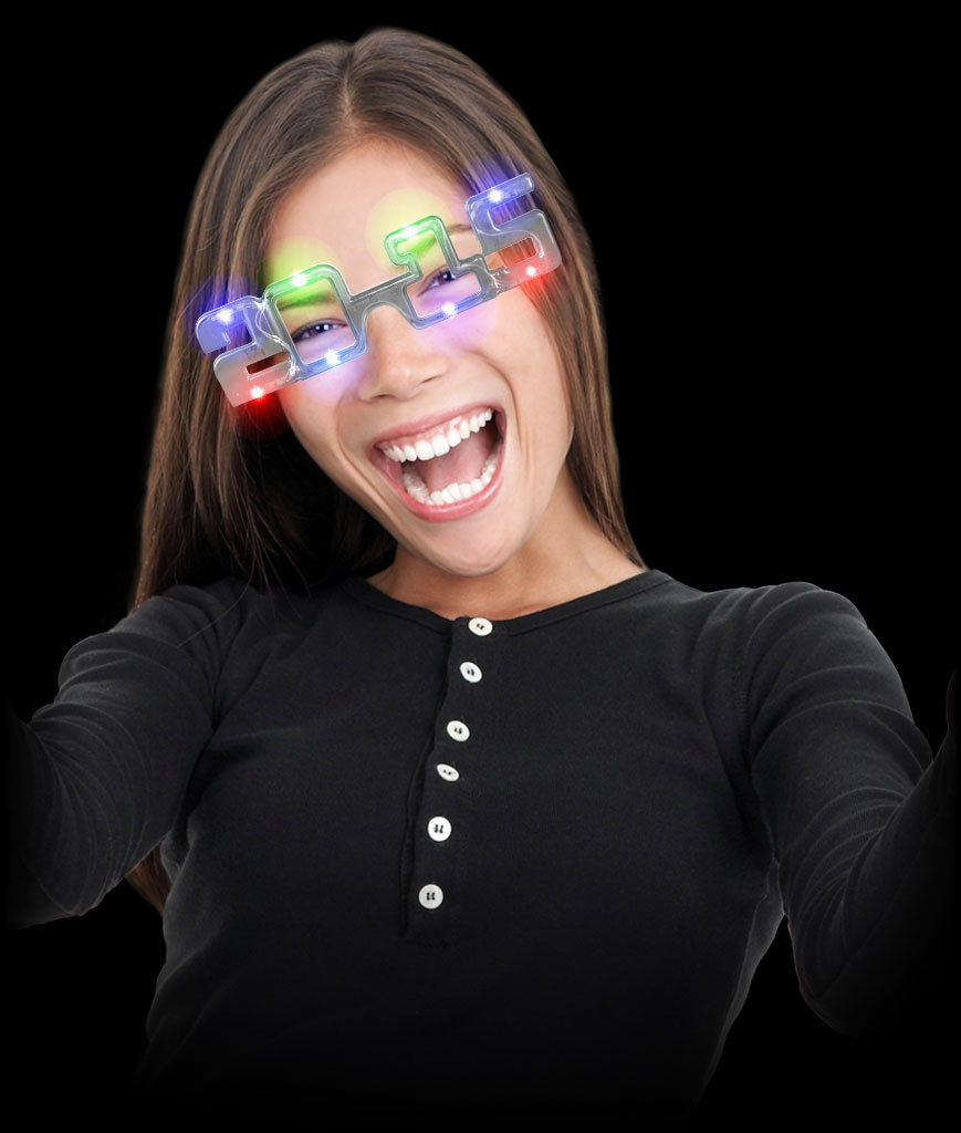LED 2015 Eye Glasses - Multicolor