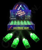 Fun Central I439 LED Light Up Finger Lights - Green 36ct