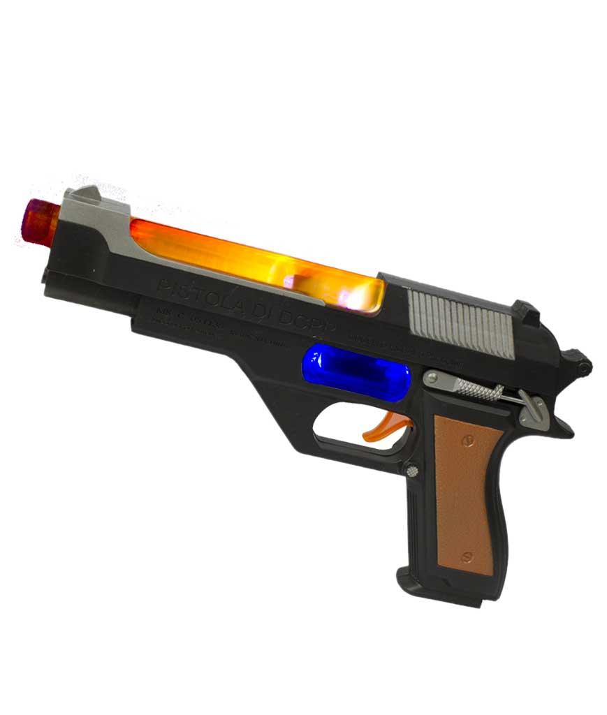 Fun Central AU043 LED Light Up 11 Inch Handgun - Bulk