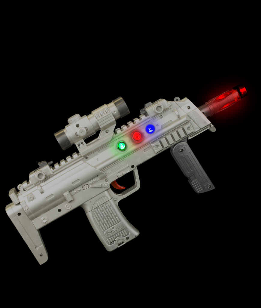 LED High Tech Rifle
