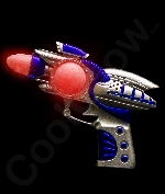 LED Mini Space Flash Blaster Gun