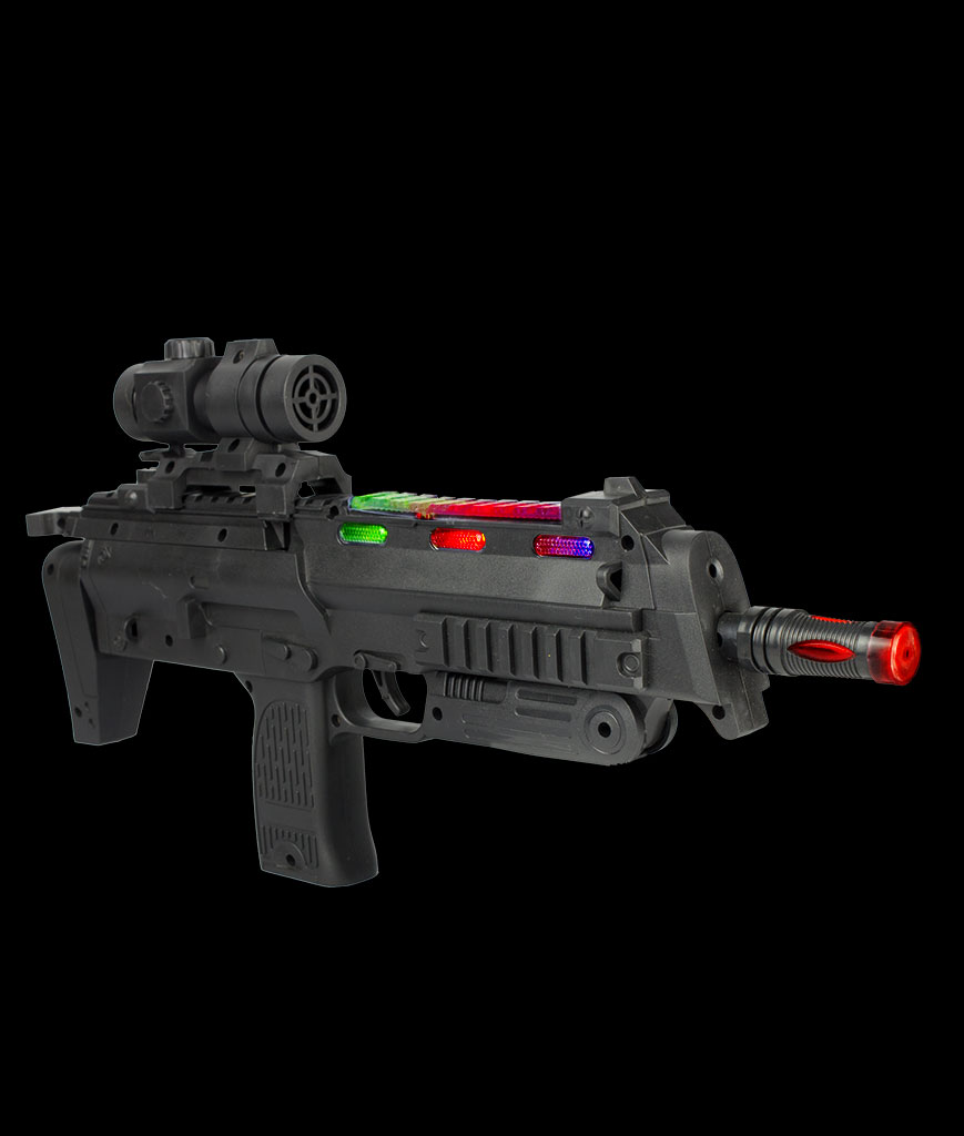 Fun Central AT759 LED Light Up Semi-Automatic Rifle