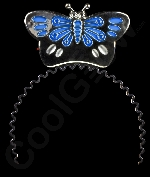 LED Flashing Butterfly Headband