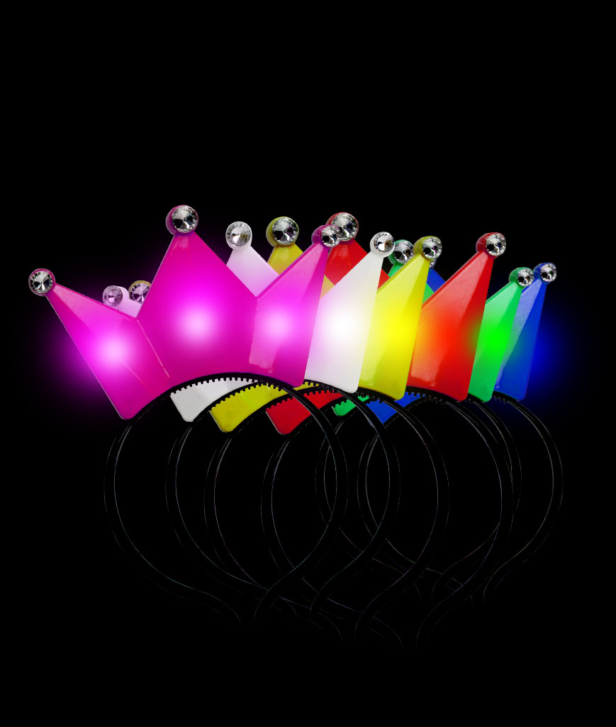 LED Crown Headband - Assorted