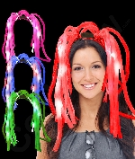 Fun Central T000 LED Light Up Party Dreads - Assorted