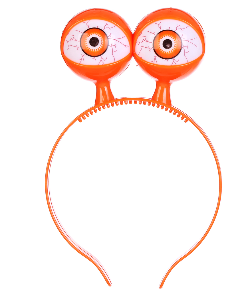 LED Eyeball Headband - Orange