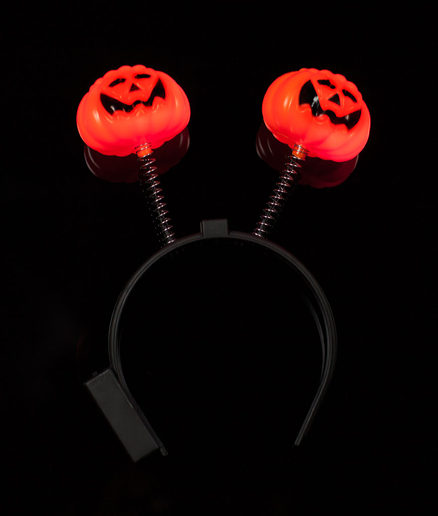 LED Pumpkin Headboppers