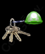 LED Hard Hat Key Chain- Green
