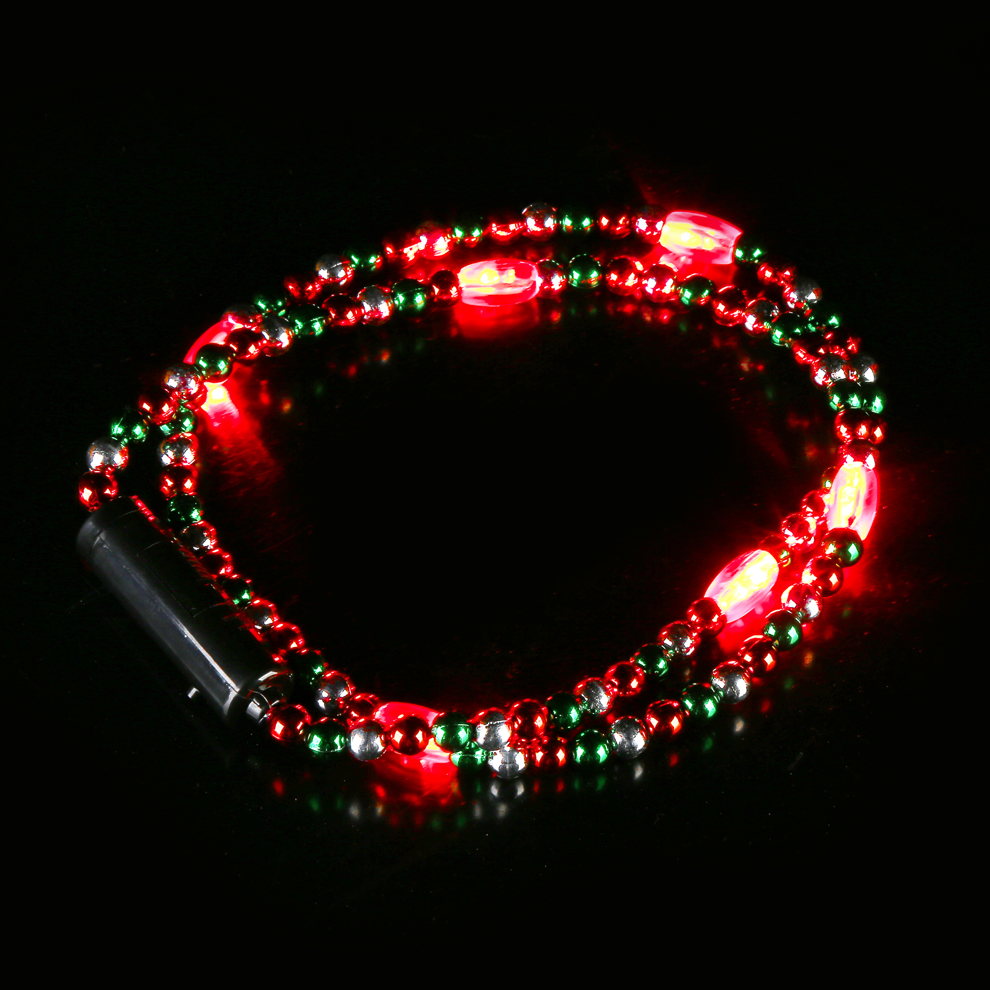 LED 34 Inch Christmas Beads Necklace