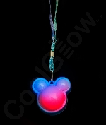Fun Central M881 LED Light Up Flashing Mouse Necklaces