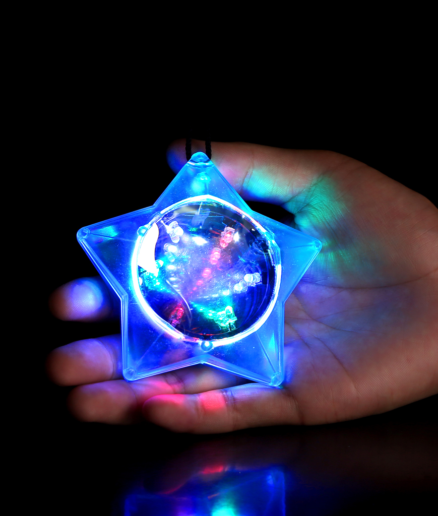 LED Star Tunnel Necklace