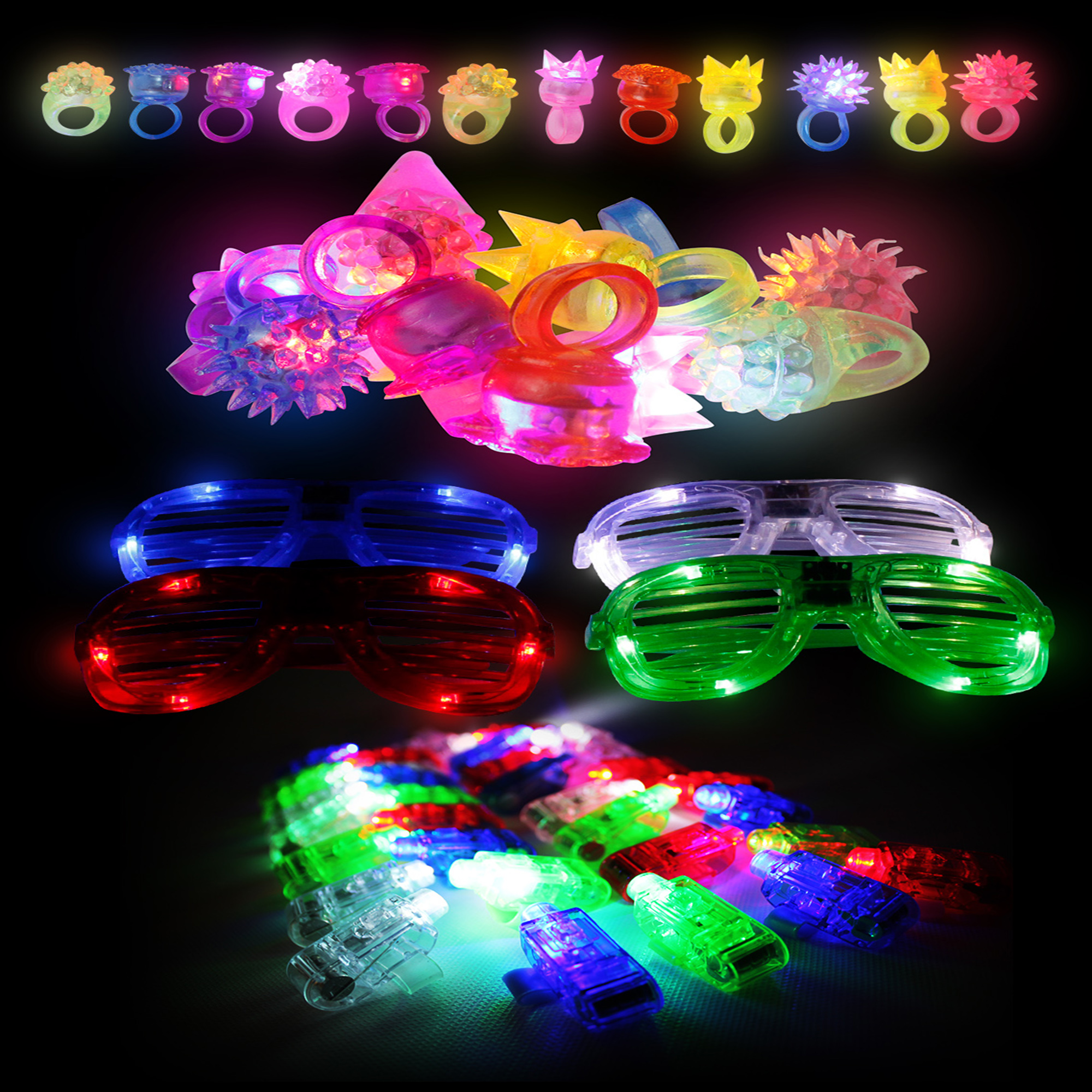 Fun Central BC791 LED Light Up Party Pack - Large
