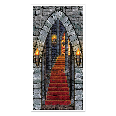 Castle Entrance Door Cover 30in x 5ft