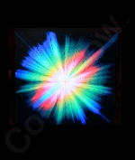 Fun Central AJ821 LED Light Up Sound Activated Patch- Starburst
