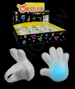 LED Hand Gestures Rings