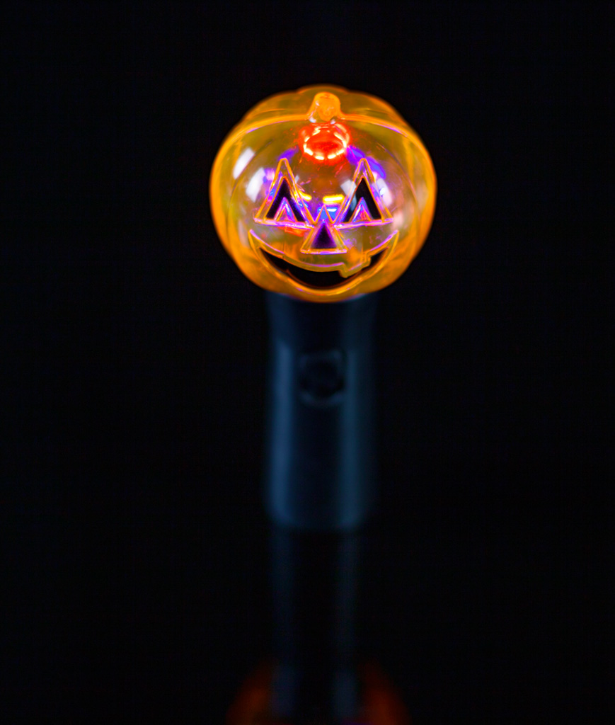 LED Pumpkin Spinner Wand