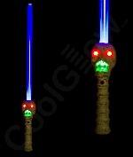 LED Graveyard Skull Sword with Sound