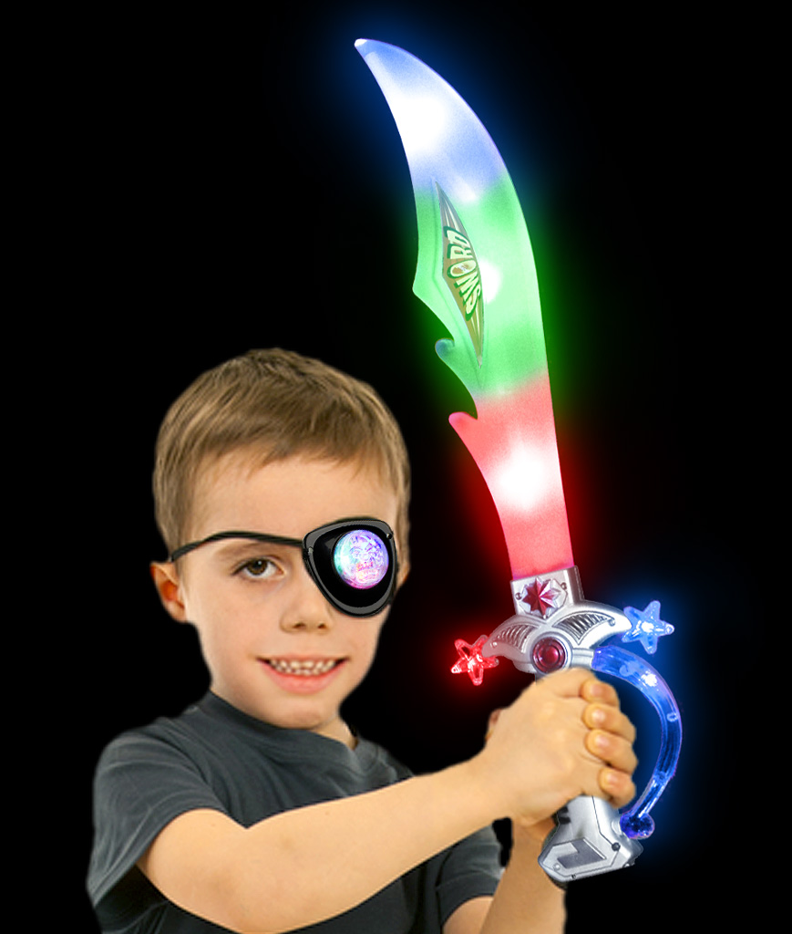 LED Pirate Sword