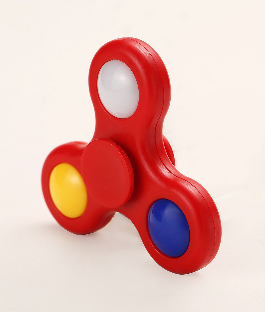 LED Finger Spinner - Red