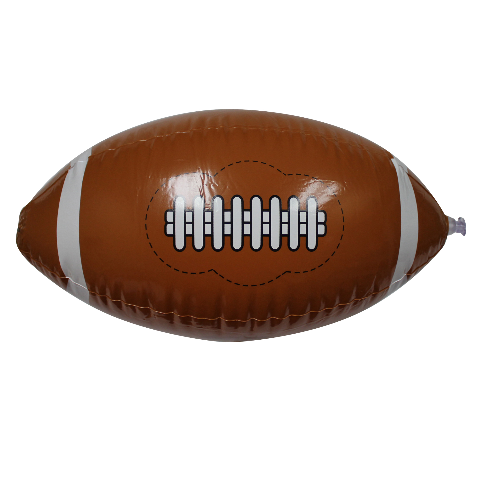 16 Inch Inflatable Football Beach Ball - 12pc