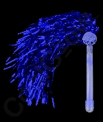 Fun Central G760 LED Light Up Metallic Pom Poms - Blue