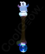 LED 16 Inch Crystal Ball Ghost Wand with Sound