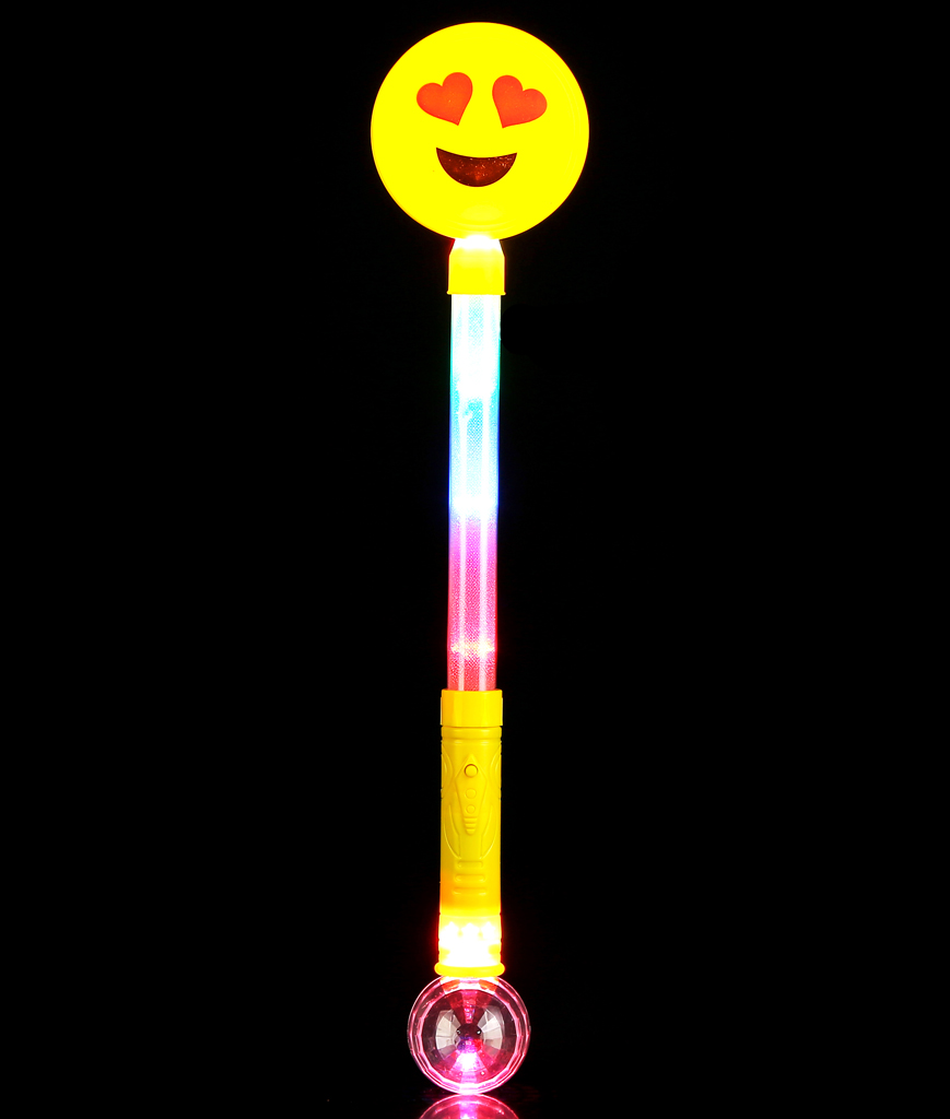 LED Emoji Ball Wand - Multicolor