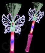 LED Fiber Optic Butterfly Wand
