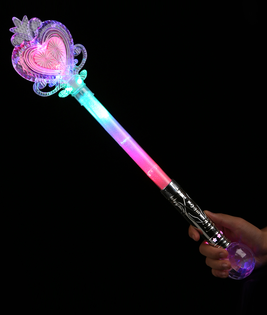 LED Jumbo Princess Wand 22 Inch