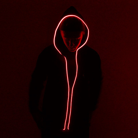 Light Up Hoodie Small - Red