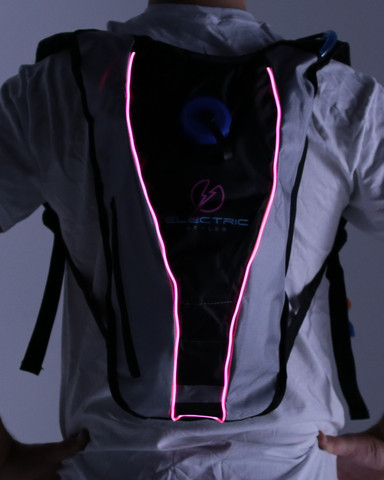 Light Up Hydration Pack - Pink