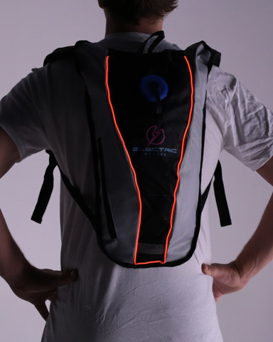 Light Up Hydration Pack - Red