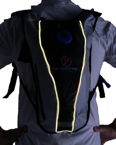 Light Up Hydration Pack - Yellow