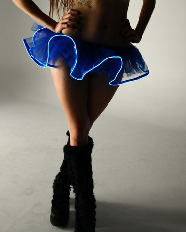 Light Up Tutu - Blue