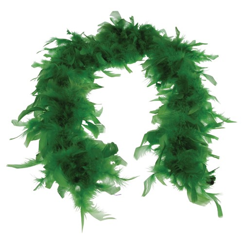 Feather Boa Green