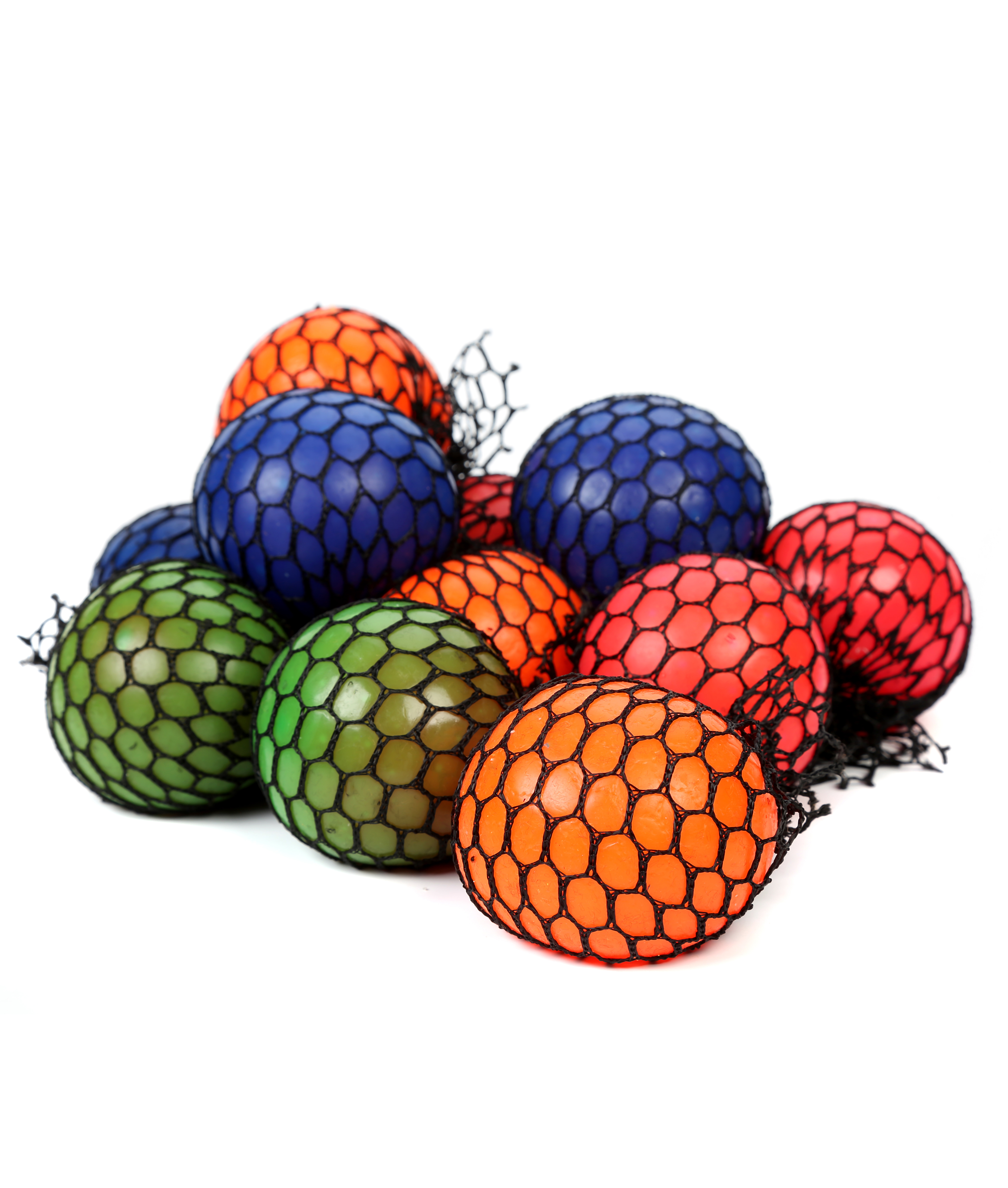 2.4 Inch Mesh Squishy Ball - Assorted