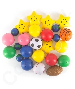 Squeeze Ball Assorted 25ct