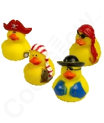 Mini Pirate Rubber Duck - 12ct