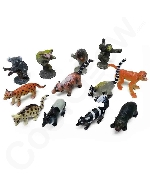 2 Inch Rain Forest Animal Figure Toys - Assorted
